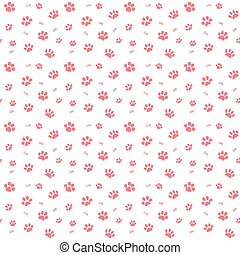 Hand drawn Sketch cats paw