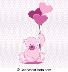 Hand drawn teddy bear