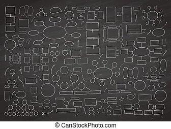 Hand drawn vector diagram.