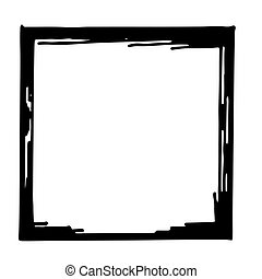 Hand drawn vector frame