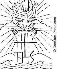 The-holy-trinity  Illustration - the holy trinity  icon