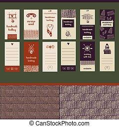 Hand drawn vector illustration vintage lettering business card f