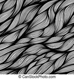 Hand drawn vector pattern.