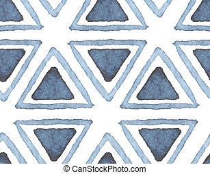 Hand drawn watercolor seamless pattern
