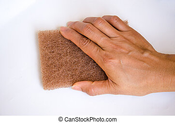 Hand for clean