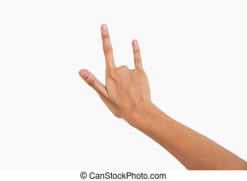Hand for love sign