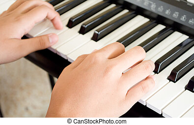 Hand for music