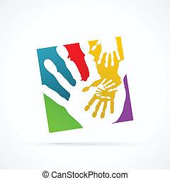 hand, geschaeftswelt