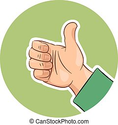 Hand gesture ok