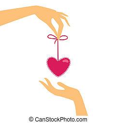 hand-heart-gift