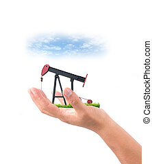 hand hold pumpjack