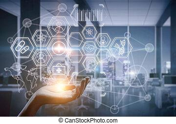 Digital medicine concept