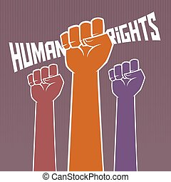 Hand Holding For Human Rights - Hand holding for human...