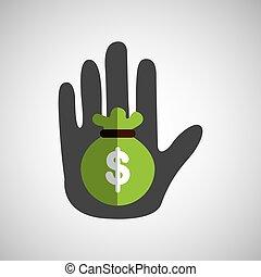 hand holding icon
