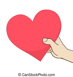 i love you hand symbol. hand forming heart shape expressing