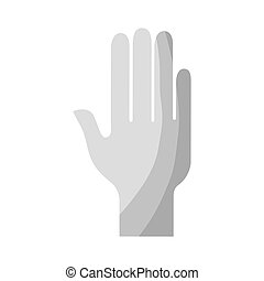 hand human silhouette icon