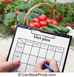 Hand is a diet plan - Hand is a diet plan against natural...