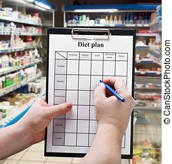 Hand is a diet plan