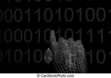 hand, kodierung