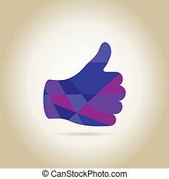 Hand like3