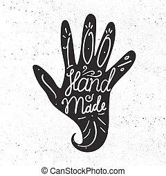 Hand Made Badge