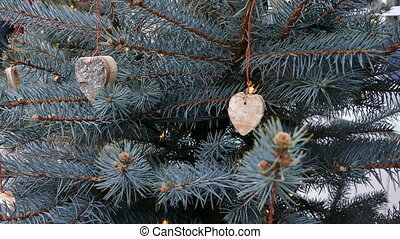 Hand made Christmas tree decorations - Hanging Hand made...