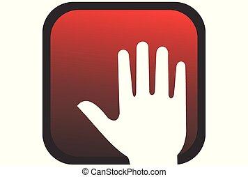hand made logo design