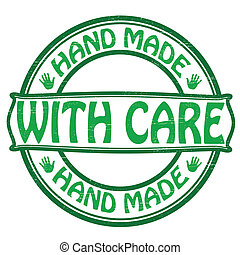 Hand made with care