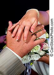 hand, men and women