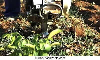 hand mini tractor