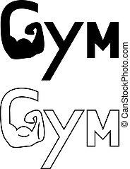 Hand of Gym set logo