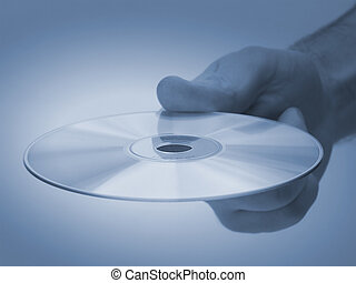 Hand out - Handing out a CD