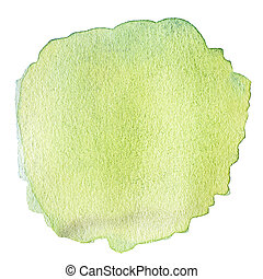 Hand painted wet watercolor textured backdrop, watercolor drop, stain