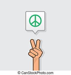 Hand Peace