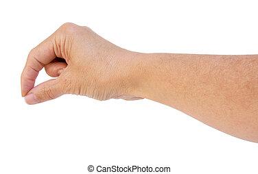Hand Picking Up