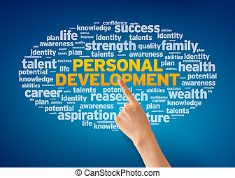 Personal Development - Hand pointing at a Personal ...