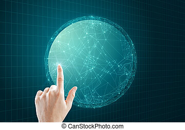 AI and data concept