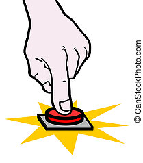Hand push button - Creative design of hand push button
