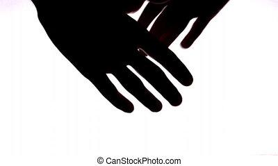 hand shake - Hand shake