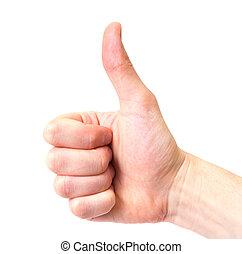 hand signal,