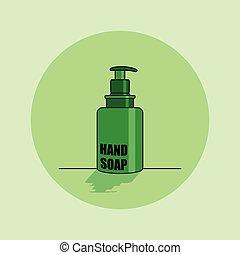 Hand Soap vector Illustration