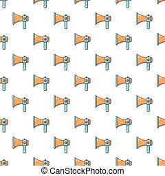 Hand speaker pattern seamless
