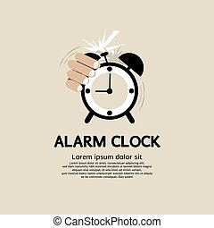 25 twenty five minutes stop watch alarm clock vector illustration