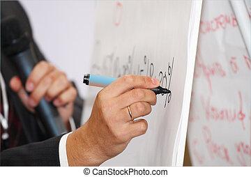 hand, teken