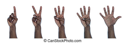 hand, telling