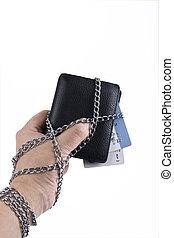 hand  wallet chain