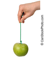 Hand with Apple