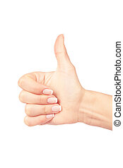 hand with clipping paths