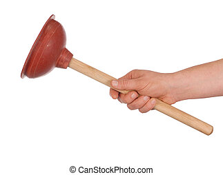 Hand with Plunger