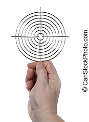 Hand with target 3